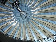 Dach vom Sony-Center, Berlin